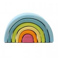 Kleiner Regenbogen Länge 10,5 cm pastell