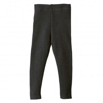 Woll Leggings anthrazit warm und mitwachsend