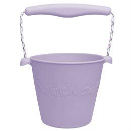 Weicher Silikon Sandeimer lila
