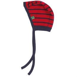 Leichte Interlock Erstlingsmütze rot