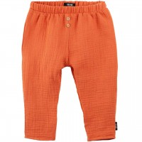 Baby Hose Musselin papaya-orange