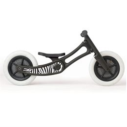 "Sticker ""Zebra"" für Wishbone recycled black Bike"