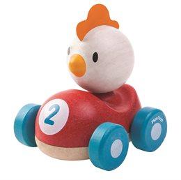 """Spielzeugauto Rennfahrerbande """"Gockel"""""""