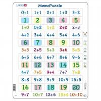 Lernpuzzle Zahlen 1 bis 20 für Kinder ab 5 Jahre