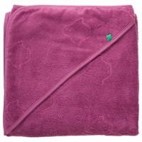 Baby Kapuzenhandtuch Baby 100x100 rosa