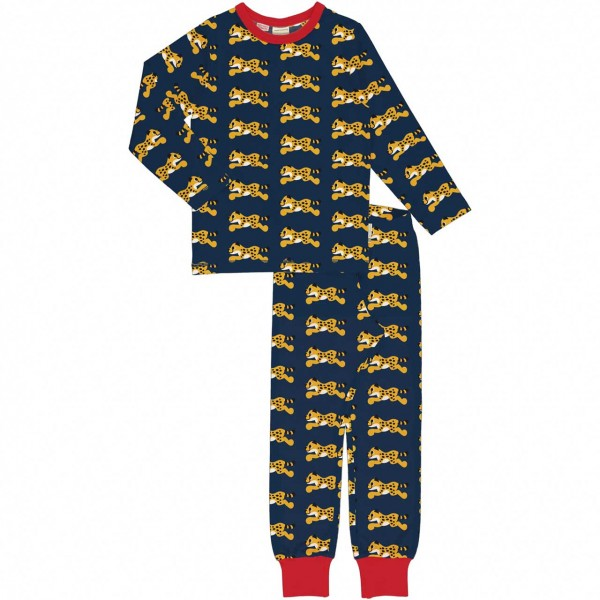 Schlafanzug Gepard navy
