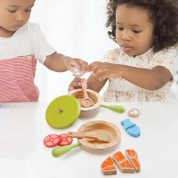 Kinder Kochset mit Topf und Pfanne