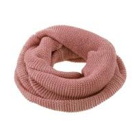 Wolle Schlauchschal rosa klein ab 6 Jahre