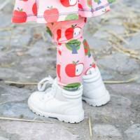 Mädchen Apfel Leggings rosa