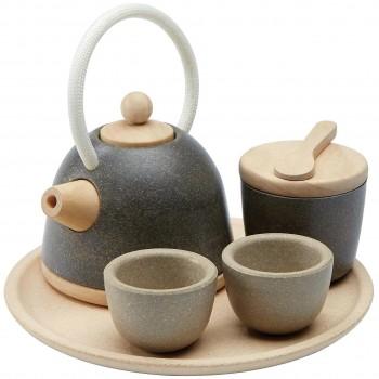 Kinder Teeservice 6-tlg Set aus Holz
