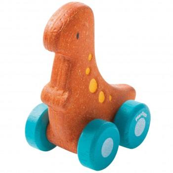 """Spielzeugauto Dino """"Rex"""" Schiebetier ab 12 Monate"""