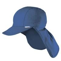 Sonnenhut Gummizug UV Schutz 30+ marine