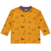 Warmes robustes senf Shirt Bulldogge