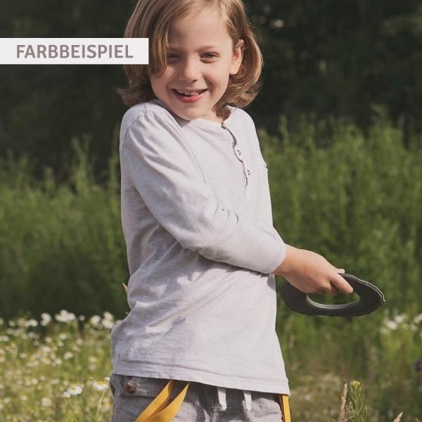 Kleiner super weicher Wurfring LOOP Frisbee gelb