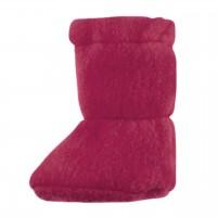 Bio Baby Füsslinge warm in pink