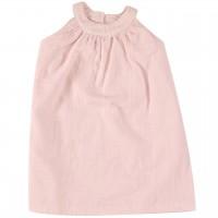Sommerkleid Musselin rosa ohne Arm