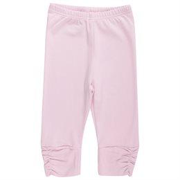 Super glatte Sommerleggings - rosa knielang
