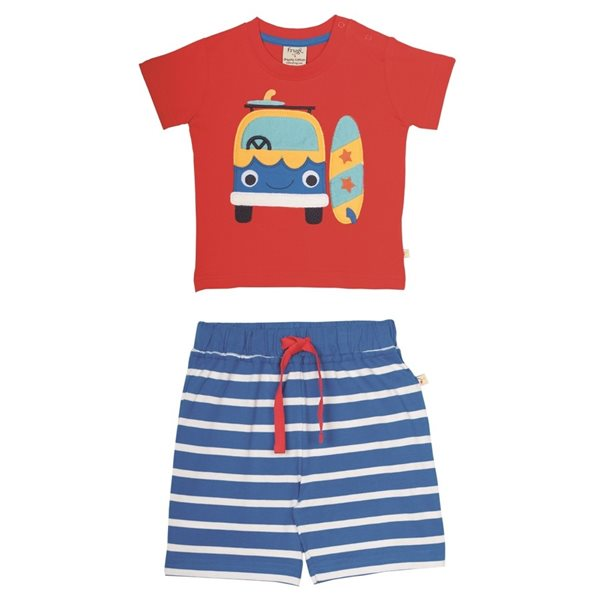 frugi Sommerkombi - Shirt & Hose