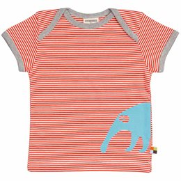 Nasenbär Shirt kurzarm orange
