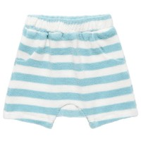 Angenehme Frottee Shorts in hellblau