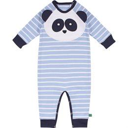 Weicher Interlock Babystrampler Panda
