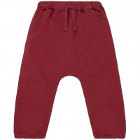 Robuste Baby Twillhose in rot