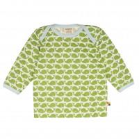 Langarmshirt Wale grün