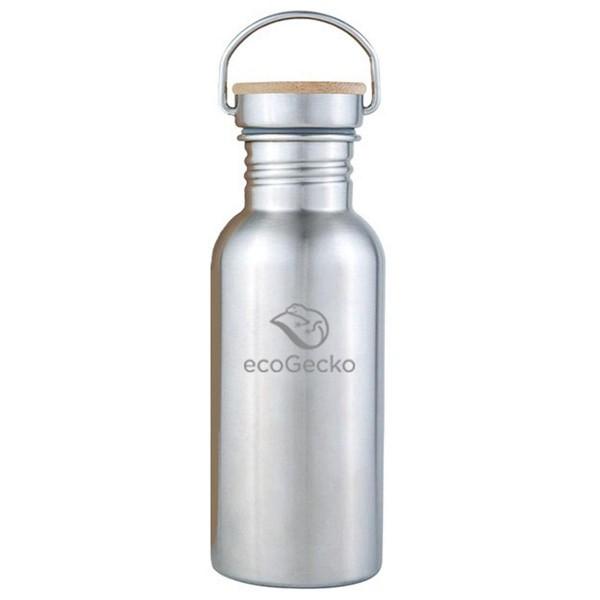 Edelstahl Trinkflasche 0,5 l - einwandig