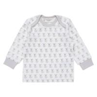 Bio Babyshirt griffig weich flieder Hündchen