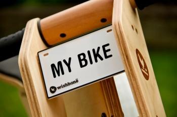 Namens- & Nummernschild für Wishbone Bikes