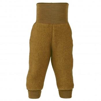 Babyhose Fleece Softbund safran-gelb