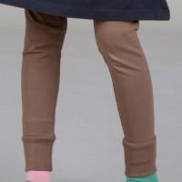 Bündchen Leggings unisex taupe