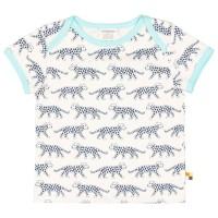 Kurzarm Shirt Gepard marine