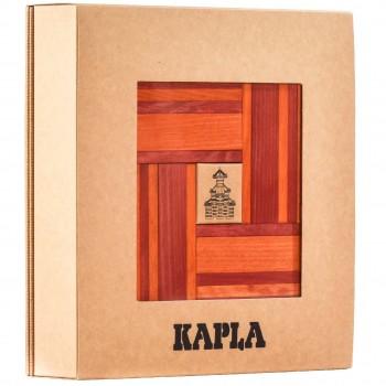 Steine Buch und Farben 40er Set (rot/orange)