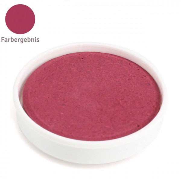 Farbtablette dunkelrot – Wasserfarben Ersatzfarben