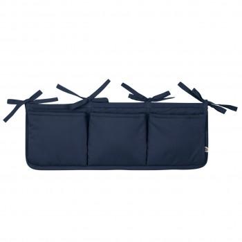 Bett-Aufbewahrung-Box in navy