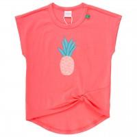 Mädchen T-Shirt weiter Arm Knoten Ananas