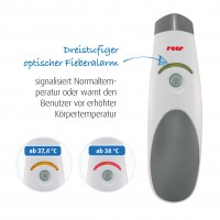 Vorschau: 3in1 SoftTemp Baby Infrarot-Thermometer - kontaktlos Messen!