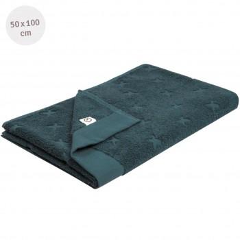 Frottee Handtuch navy 50x100