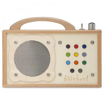 Hörbert Musikspieler mit Abschaltautomatik incl. 9 Hörspiele, MP3 Player