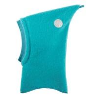 Wolle Schlupfmütze ohne Schirm türkis