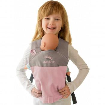 Kinder Puppentrage multifunktional – rosa