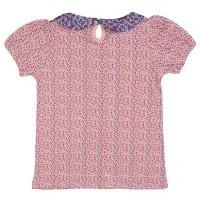 Vorschau: Leichtes Shirt aus glattem Jersey mit Seestern Aufnäher