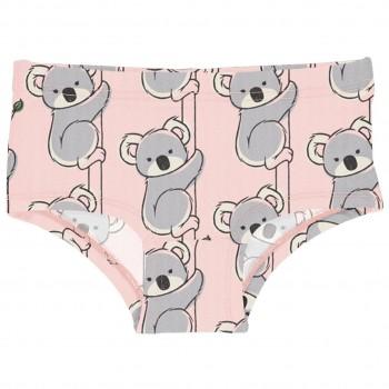 Mädchen Hipster Koala in rosa