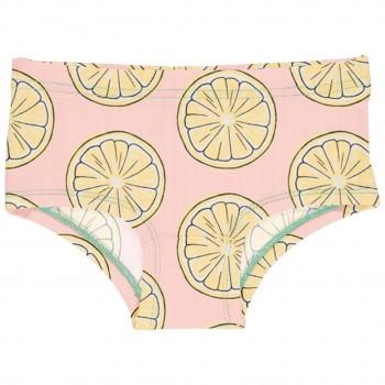 Mädchen Hipster Zitronen in hellrosa