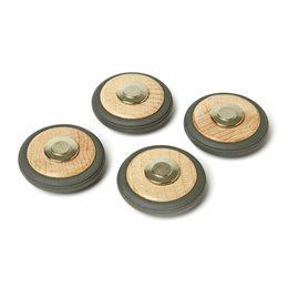 Magnet Räder für Tegu-Bausteine