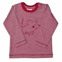 Bio Baby Shirt softe Bündchen Maus