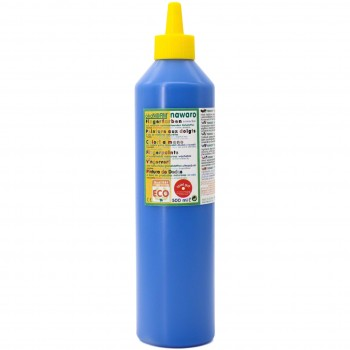 Fingerfarben 500 ml Schul- und Theaterfarbe blau