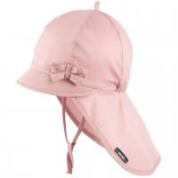 Sommer Mütze Schleife Nackenschutz rosa