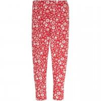 Leggings rote Blumenwiese